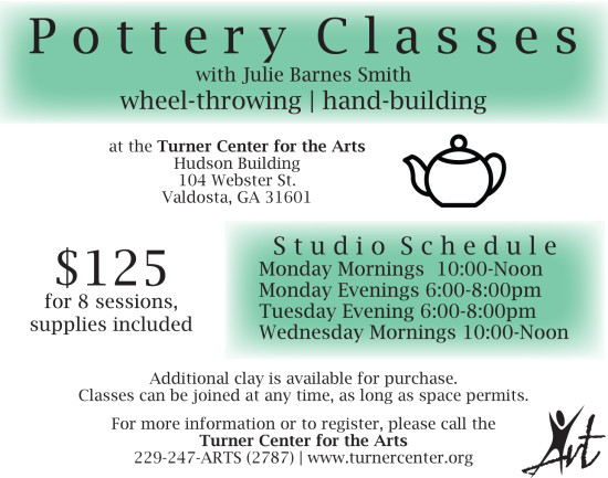 Pottery Workshop January Single