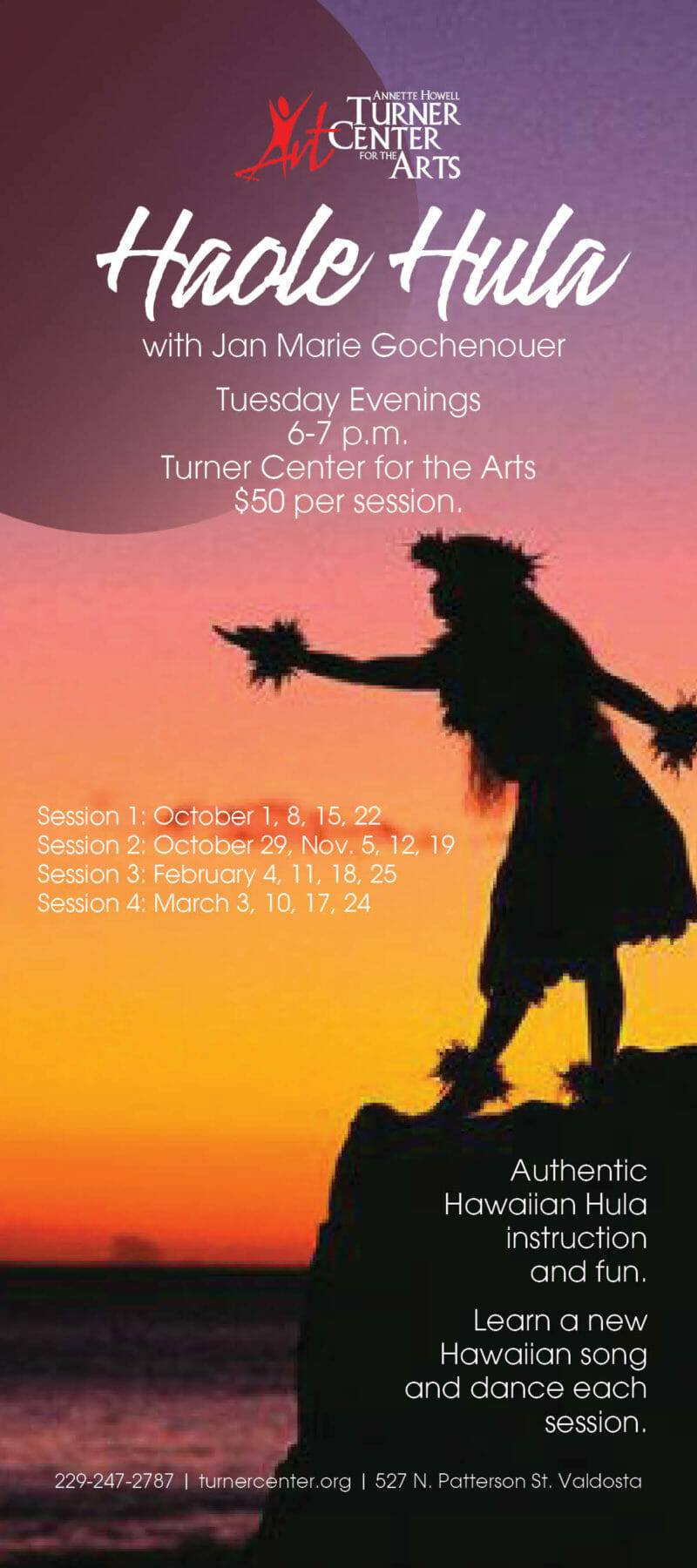 Turner Center Offers Cultural Hula Dance