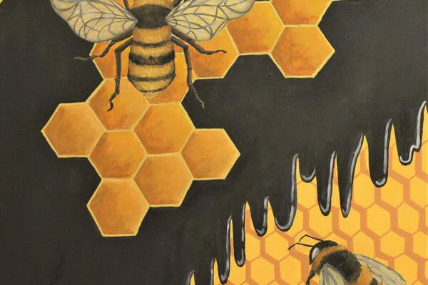 103_Cathy Hering-Honeycomb $500