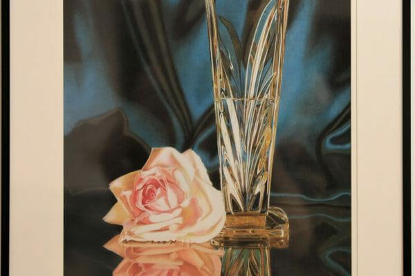 155_Suzanne Marcil-Rose Colored Glass $1500