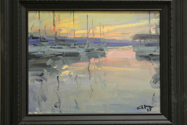 173_Gary Nichols-Evening at the Marina $900