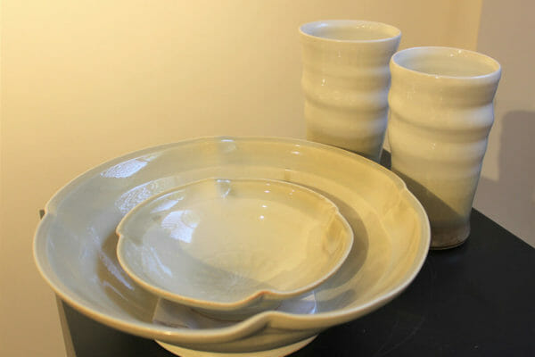 206_Michael T. Schmidt-Cup and Bowl Set $185 *SOLD*