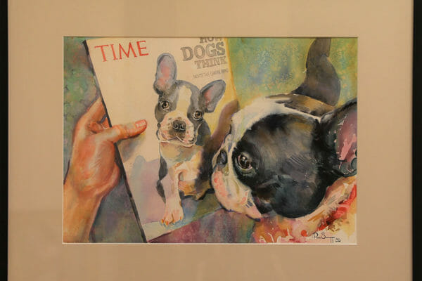 211_Pam Scruggs-How Dogs Think $900