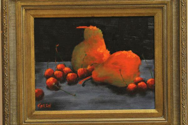 222_Karen Stewart-Pair of Pears $350