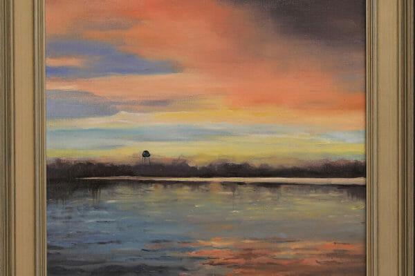 223_Suzanne Taylor-Sunset on Long Pond $275