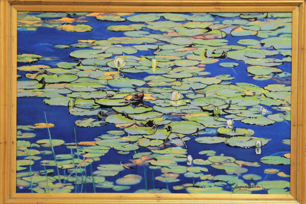250_Suzanne Winton-Lily Pads II $4000