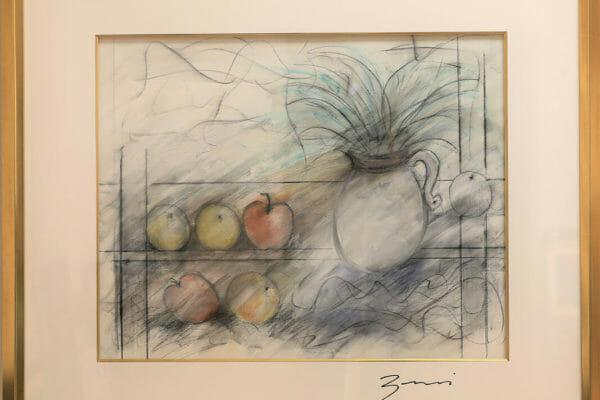 254_Ronald Zaccari-Ferns and Fruits $1850