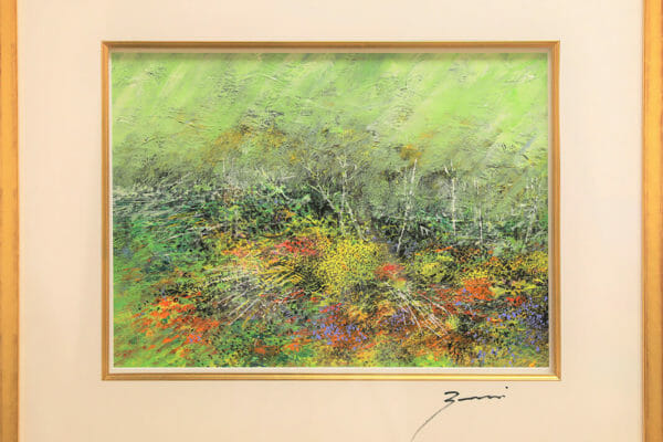 255_Ronald Zaccari-Wild Flowers Amonng Fallen Branches $1250 *SOLD*
