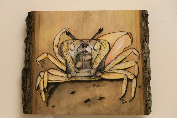 61_Jennifer Dunn-Fiddler Crab $250