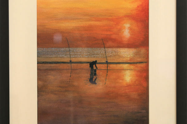 73_Tina Evans-Sunset Fishing $150