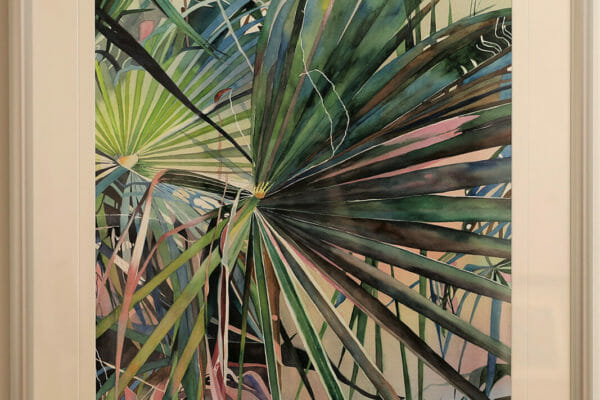 75_Rosemary S. Ferguson-Wild Prawn Fronds $1500