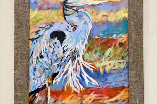15 Heron 24x36 $700 *SOLD*
