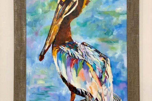 21 Pelican 30x40 $800