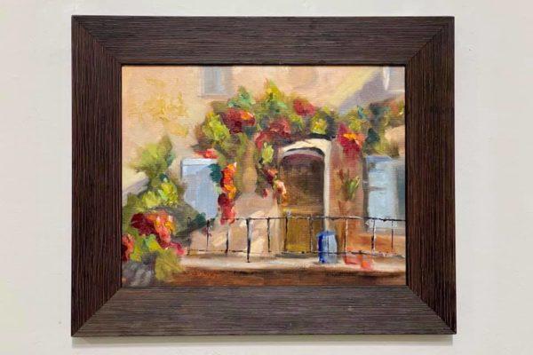 24 Doorway to Amalfi 11x14 $425 *SOLD*