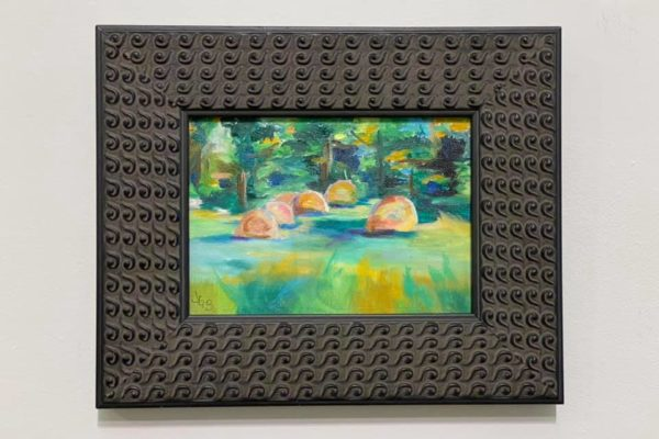 35 Morning Hayfield 5x7 $125 *SOLD*