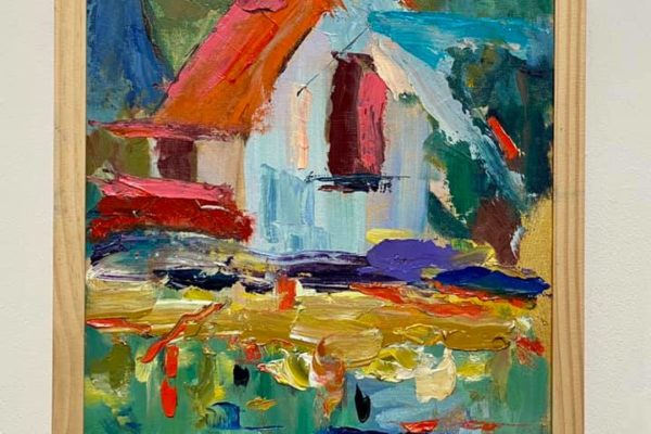 36 The Old House 12x12 $375 *SOLD*