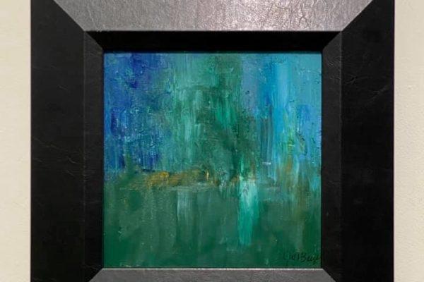 39 Blue Mist 8x8 $140 *SOLD*
