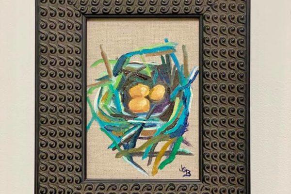 45 Bird Nest Cool 5x7 $ 125 *SOLD*
