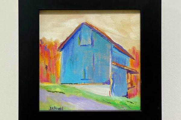 47 Blue Barn 6x6 $90 *SOLD*