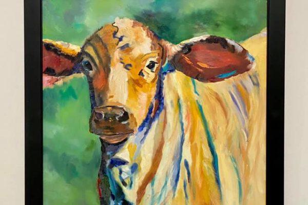 5 Pinetta Herd #2 16x20 $500