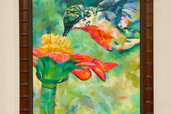 6 Humming Bird #1 36x24 $750