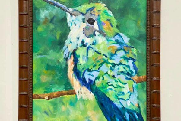 7 Humming Bird #2 36x22 $750 *SOLD*