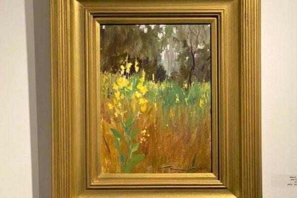 #13 Wild Flowers 9x12 Oil $500