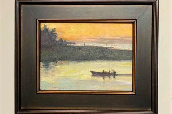 #22 Vanishing Horizon 9x12 Oil $350