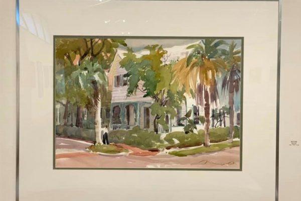 #26 Corner of Ash 22x30 Watercolor $1,050