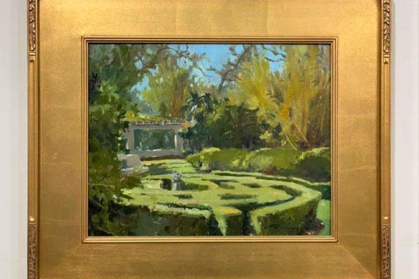 #8 Musgrove Maze 16x20 Oil $1,500
