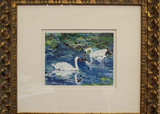#10 Walter Altman-Swans in Chantilly-$8,900