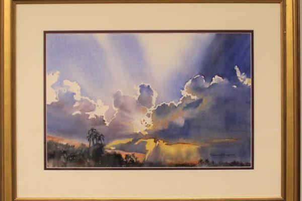 #103 Rosemary S. Ferguson - Impressive Clouds -$600