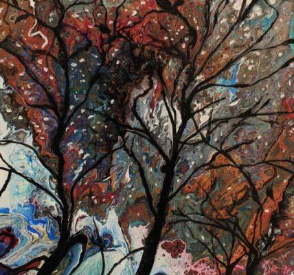 #167 Lauren Lizarraga-Spring Awakening-$180 *SOLD*