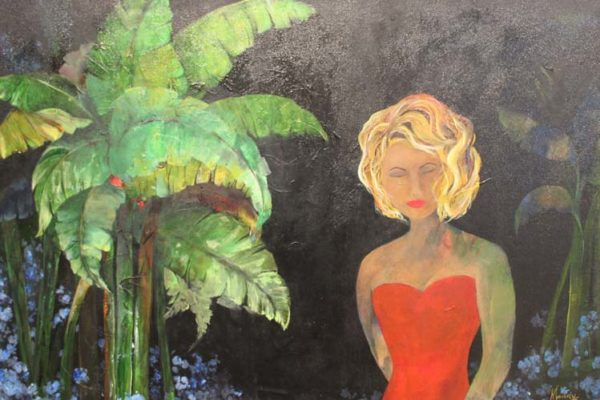 #177 Mandy Macias - Farewell to Paradise -$695