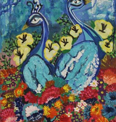 #184 Nikole Martinez-Peafowl Raising In Spring-$230
