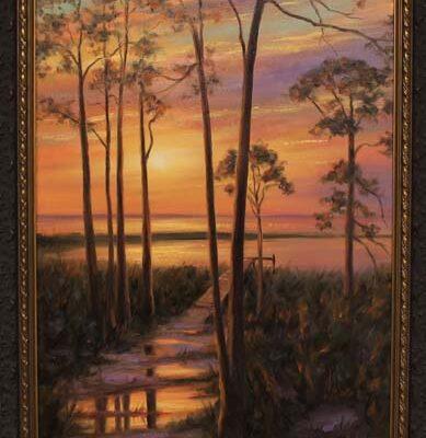#192 D. Arthur McBride-Evening Gift-$2800
