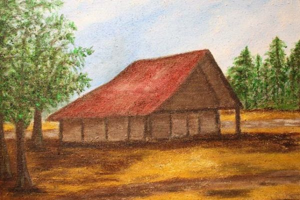 #216 Ollene W. Osborne-Old Cotton House-$150