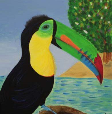 #240 Julia A. Rodriguez-Wild Toucan I-$250