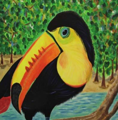 #241 Julia A. Rodriguez-Wild Toucan II-$250