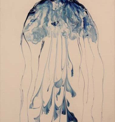 #266 Leo Soileau-Jelly Fish-$125