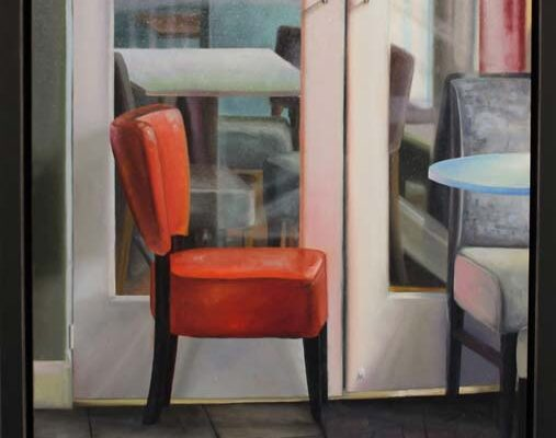 #290 Mary Vanlandingham-Save Me the Red Chair-$800