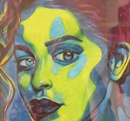 #321 Kaitlyn Zeigler-Blue Haze-$190