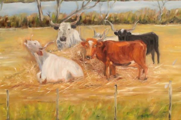 #37 Linda Brooks -Longhorns - $325