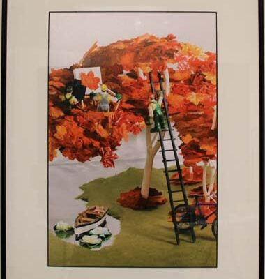 #91 Larry Elshoff - Autumn Love - $400
